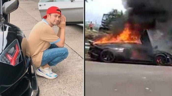 POLISI Ungkap Identitas STNK Lamborghini Aventador yang Terbakar di Sentul, Bukan Milik Raffi Ahmad