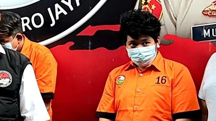 Terpengaruh Lingkungan Bergaul, Putra Rita Sugiarto Sudah Konsumsi Sabu Sejak 3 Tahun Silam