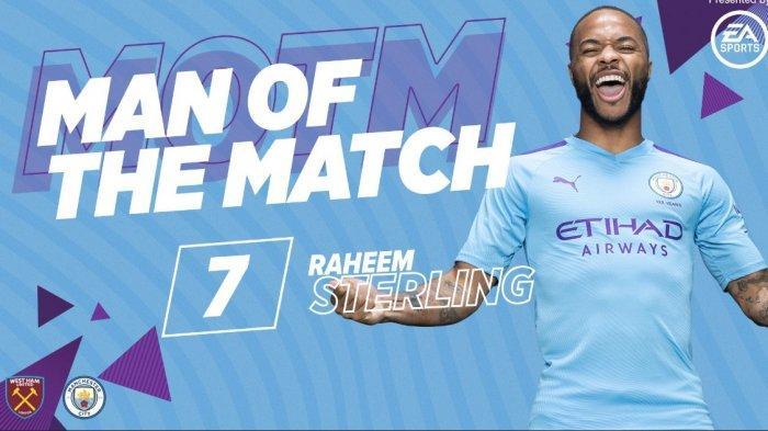 Raheem Sterling Hattrick, Man Of the Match dan Rating Pemain. Ini Profil Raheem Sterling
