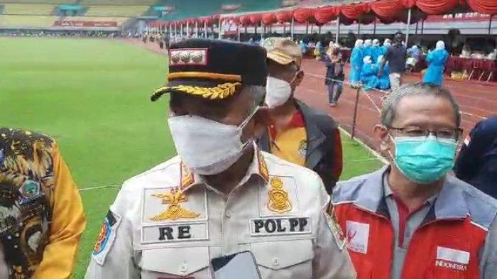 Rahmat Effendi Ingin kembali Menggelar Vaksinasi Covid-19 Massal di Stadion Patriot Candrabhaga
