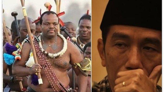 SKANDAL Raja Mswati III yang Datang ke Pelantikan Jokowi, Hidup Mewah Tapi 1,3 Juta Rakyatnya Miskin