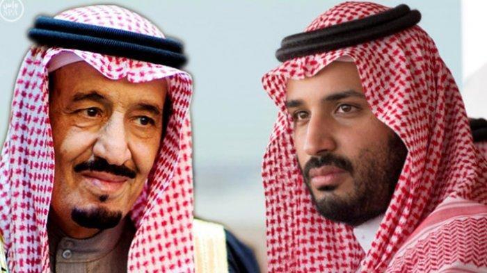 Raja Salman Dikabarkan Bersitegang dengan Pangeran MBS, Sejak Kasus Pembunuhan Jamal Khashoggi