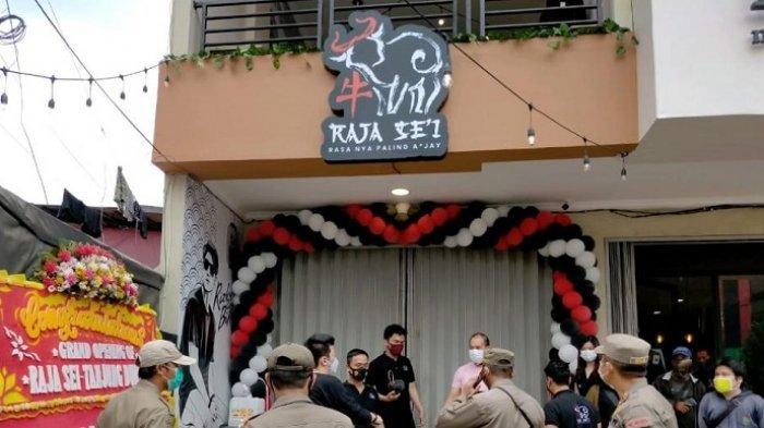 Restoran Rizky Billar Jadi Salah Satu dari  693 Kafe di Jakarta Barat Dirazia Satpol PP