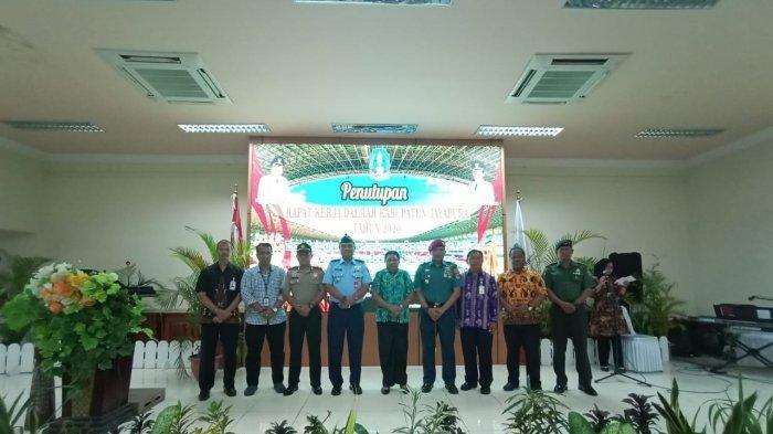 Danyonmarhanlan X Hadiri Penutupan Rakerda Tahun 2020 Di Kabupaten Jayapura