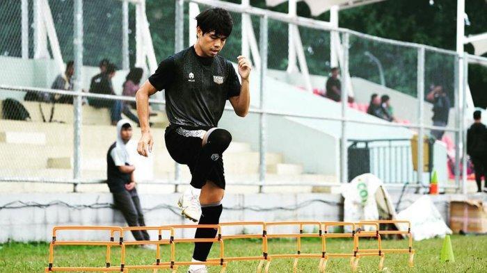 Rangga Muslim Gelandang Dewa United FC Yakin Timnya Bisa Bersaing di Liga 2