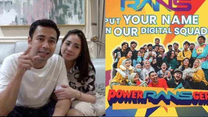 LOWONGAN Kerja dari Raffi Ahmad di Rans Entertainment Butuh Lulusan SMA Sampai Sarjana