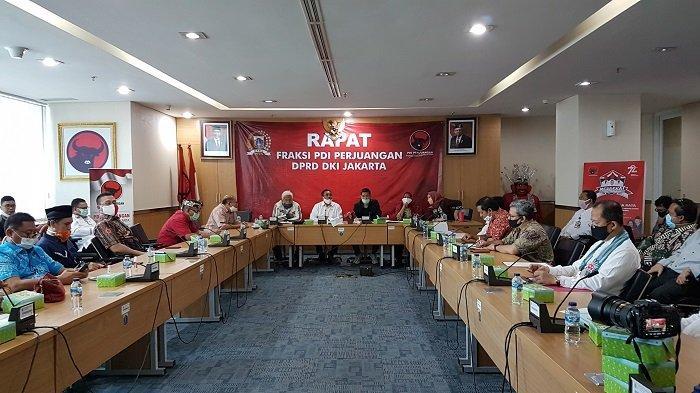 Fraksi PDIP DKI Desak Jakpro Bongkar Struktur Bangunan di Ruang Terbuka Hijau di Pluit Jakarta Utara