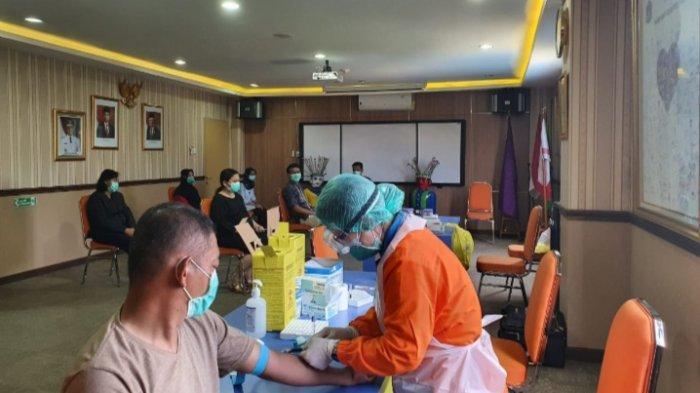 500 Rapid Test Covid-19 Disediakan di Puskesmas Kramat Jati Jakarta Timur