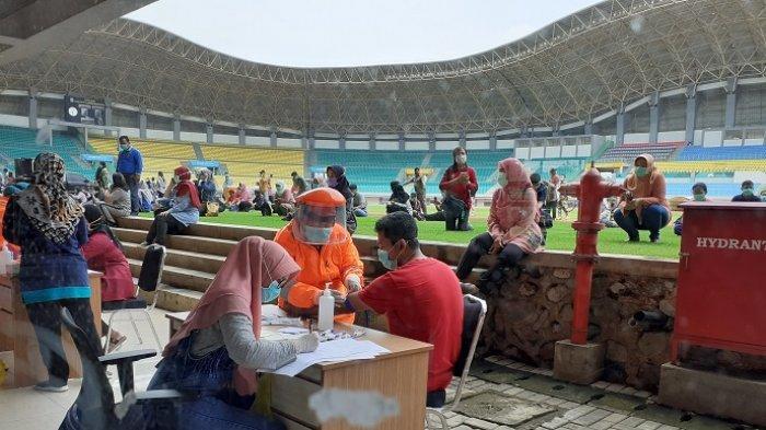 BREAKING NEWS: Pemkot Bekasi Gelar Rapid Test COVID-19 di Stadion Patriot, Khusus Tim Medis