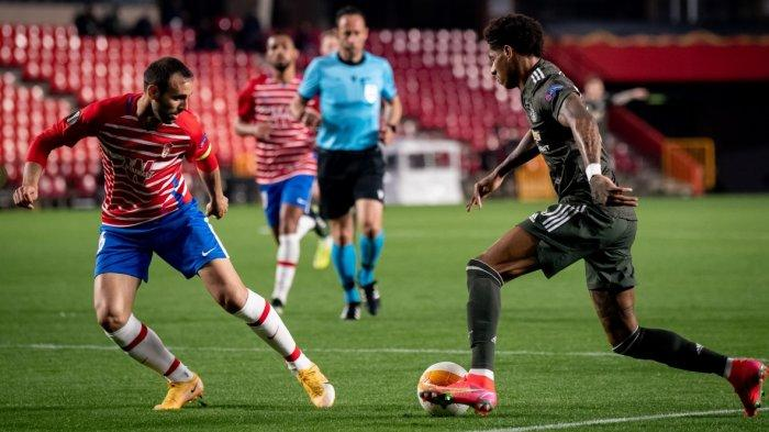 Hasil Lengkap Liga Europa, Manchester United Jinakan Granada 2-0, Arsenal Ditahan Slavia Praha 1-1