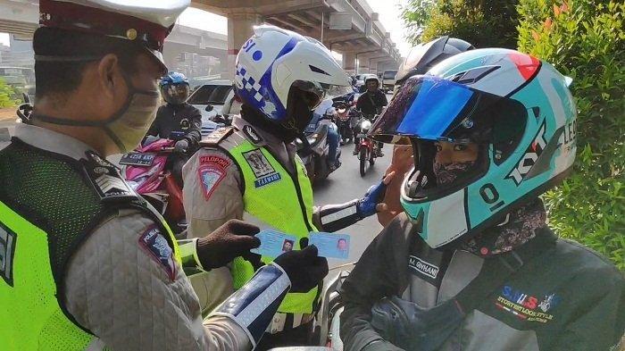 Melanggar PSBB, SKCK Diblokir, Perpanjangan SIM Ditunda, Denda Rp 250 Ribu dan Kendaraan Dikandangin