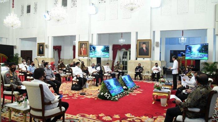Jokowi: Membuat Peraturan Menteri Sehari Selesai, Itu Loh yang Saya Inginkan