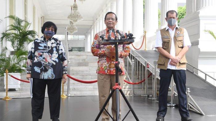 Hari Ini Mahfud MD ke DPR untuk Sampaikan Sikap Tegas Pemerintah Soal RUU HIP