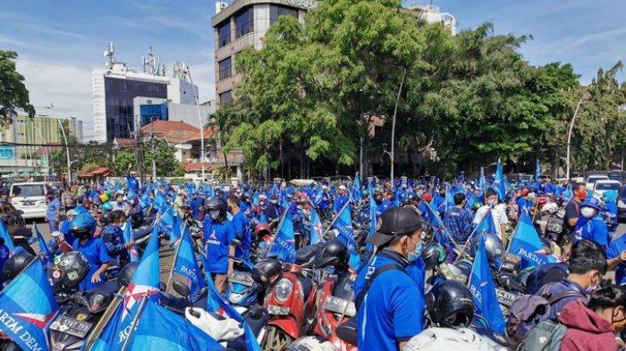 Tak Gentar Lawan Moeldoko, Ratusan Kader Demokrat Bersiap Kawal AHY Geruduk Kemenkumham