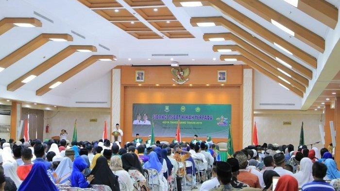 Sebanyak 640 Pasangan di Tangerang Nikah Massal
