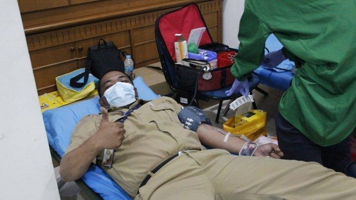 Sambut HUT DKI, PMI DKI Jakarta dan Sudin Dukcapil Jaksel Ajak Ratusan Orang Donorkan Darah
