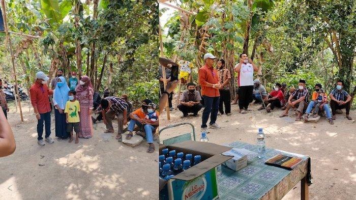 Goweser Klaten Beri Kejutan Warga Kabupaten Gunung Kidul dengan Sembako dan Renovasi Masjid