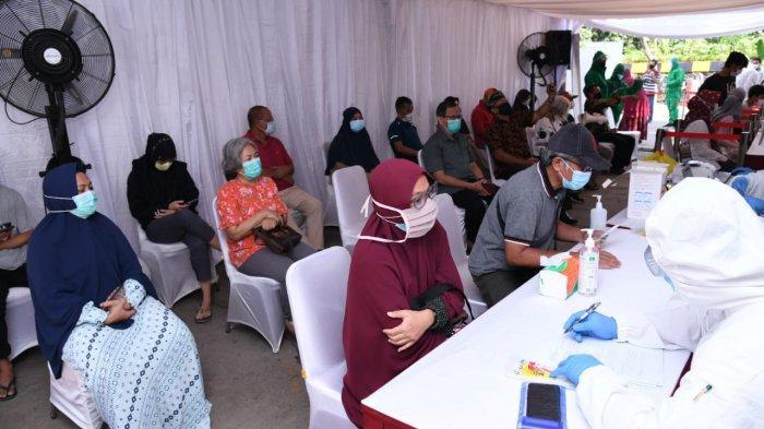 Badan Intelijen Negara Gelar Swab Test di Kompleks Taman Rafflesia Bekasi, Cegah Penyebaran Covid