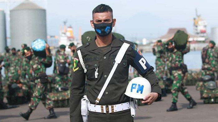 Ravi Murdianto juga aktif sebagai anggota TNI AD dengan pangkat Serda yang berdinas di Pomdam 4 Diponegoro, Semarang