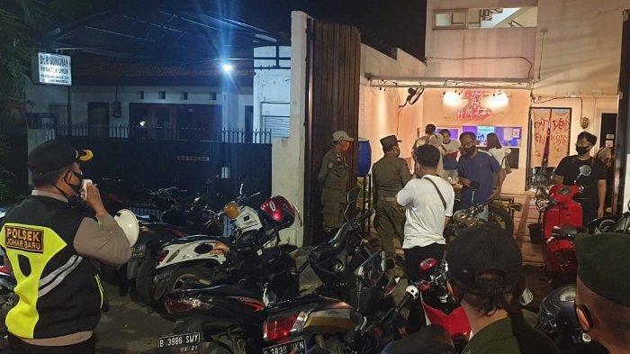 Jelang Natal 2020 dan Tahun Baru 2021, Warga Johar Baru Jakarta Pusat Terciduk, Kumpul Saat Pandemi