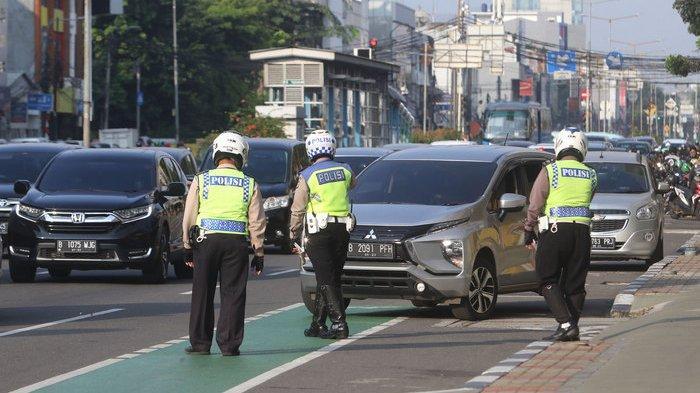 Tilang Elektronik Pelanggaran Ganjil Genap Meningkat di DKI Jakarta Mencapai 2.428 Pelanggar