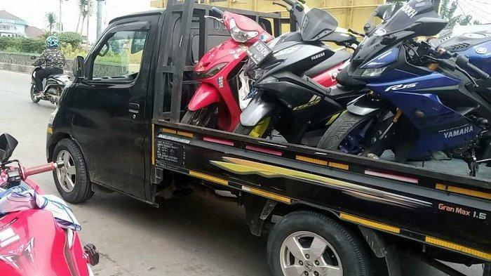 Bikin Kaget dan Telinga Sakit, Jadi Alasan Satlantas Polres Bekasi Gencar Razia Motor Knalpot Bising