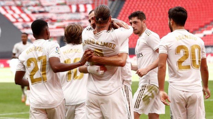 Hasil Liga Spanyol, Real Madrid Makin Menjauhi Barcelona, Menang 1-0 Atas Athletic Bilbao