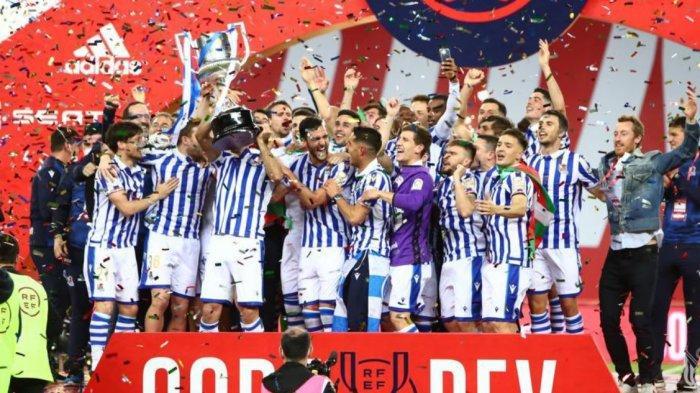 Kalahkan Bilbao 1-0, Real Sociedad Juara Copa Del Rey 2019/20,  Copa 2020-21 Bilbao vs Barcelona