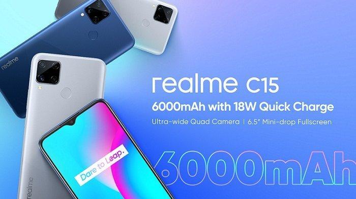 Mulai Rp 2 Juta, Realme C15 Punya Fitur Kamera Hitam Putih dan Retro, Ini Keunggulan dan Spesifikasi