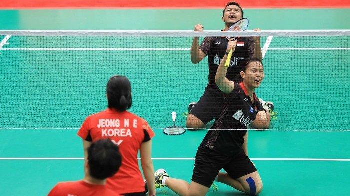 Rehan/Siti Balas Kekalahan di Kejuaraan Junior Asia dari Ganda Korea