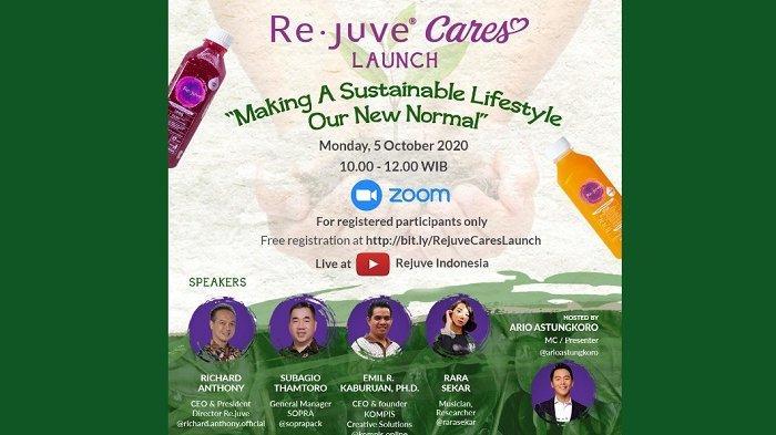 Kampanye Re.juve Cares, Dukungan Re.juve untuk Gaya Hidup Berkelanjutan sebagai 'Our New Normal'