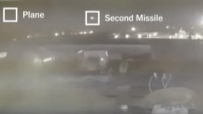 VIDEO Terbaru Ini Buktikan, Ternyata Pesawat Ukraina Jatuh Setelah Ditembak 2 Rudal Iran