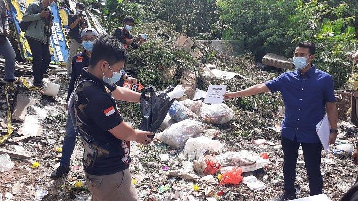 Selain di Kali Mati Pelaku Mutilasi Buang Potongan Tubuh Korban di Tempat Buang Sampah dan Selokan
