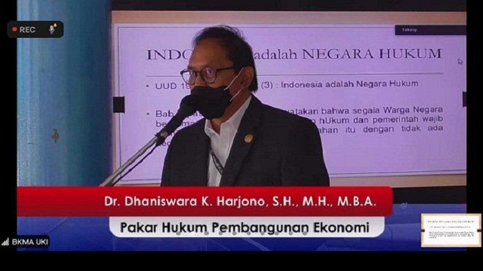 Outlook Indonesia 2021,Digital Ekonomi dan UU Cipta Kerja Jadi Harapan Pemulihan Ekonomi Nasional