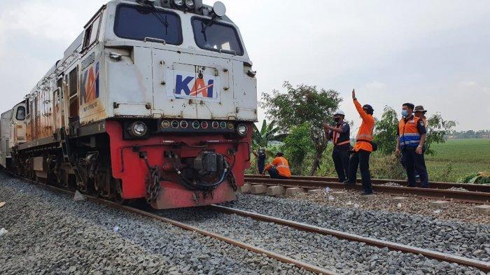 Usai Terendam Banjir dan Diperbaiki, Kini Stasiun Kedunggedeh-Lemah Abang Sudah Bisa Dilintasi