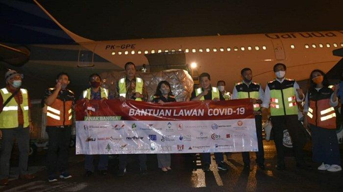 Relawan Anak Bangsa Donasi Puluhan Ribu APD untuk Garda Terdepan Lawan Covid-19