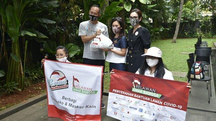 Dukung Aksi Sosial Pertiwi Indonesia, Relawan Anak Bangsa Salurkan Bantuan 15.000 Paket Sembako