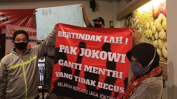 Relawan Bersatu Jaga Jokowi Desak Reshuffle Kabinet, Sebut Kementerian BUMN Paling Gaduh