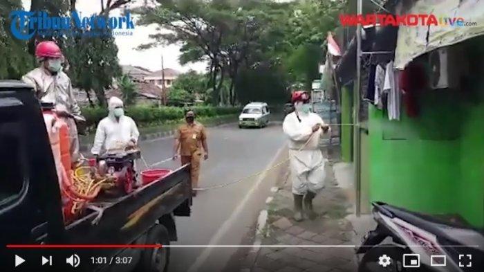 VIDEO PMI Kota Tangerang Semprot Disinfektan 300 Titik Wilayah Pusat Kota Tangerang