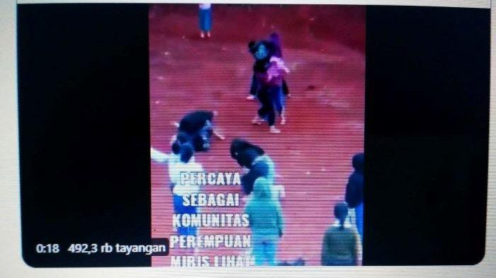 Video Belasan Remaja Putri di Cipayung, Depok Berantem di Lapangan Tanah Merah Viral di Twitter