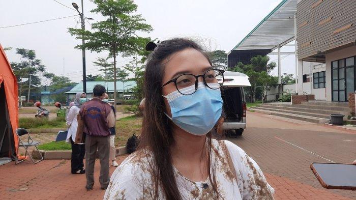 Remaja putri penyintas covid-19 dipulangkan dari RLC Kota Tangsel.