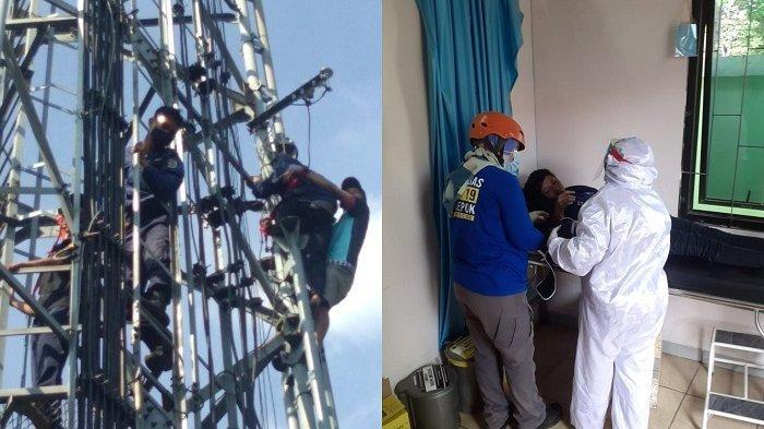 Kesal Dicuekin Suami, Mama Muda di Depok Panjat Tower Setinggi 30 Meter, Sudah 5 Kali Mau Bunuh Diri