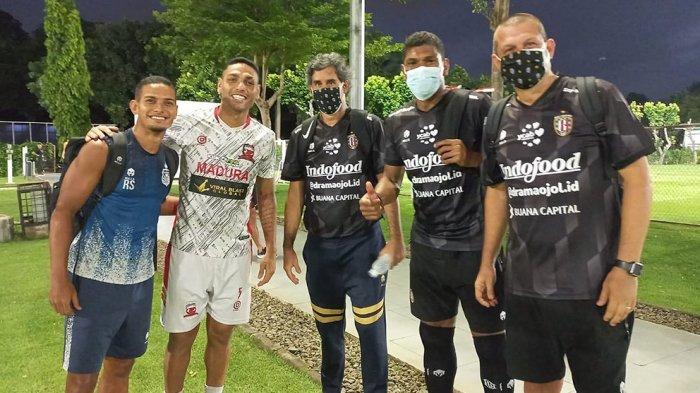 Mantan Pelatih dan Pemain Persija Asal Brasil Bertemu Secara Tidak Sengaja dan Jaga Keakraban