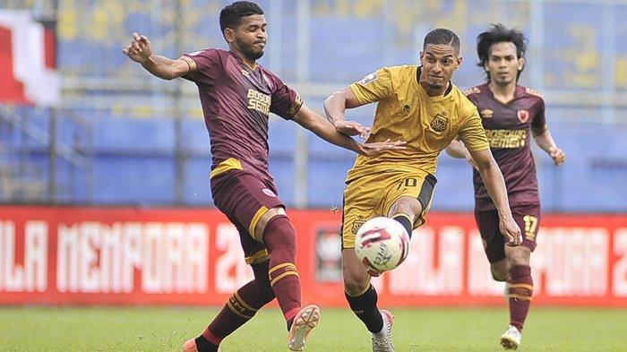 Renan Silva Gelandang Serang BSFC Senang Masuk Nominasi BEST XI Piala Menpora 2021