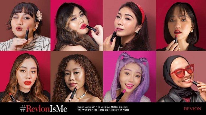 Revlon Perkenalkan Rangkaian Super Lustrous The Luscious Mattes Lipstick dengan 8 Warna Unik