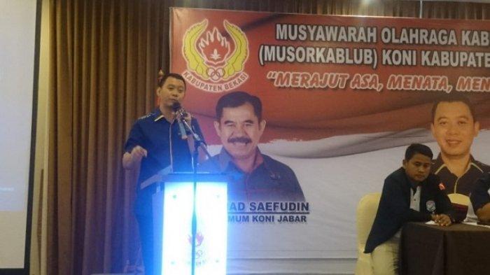 Target 160 Medali Emas di Porprov 2022, Ini Beberapa Strategi KONI Kabupaten Bekasi