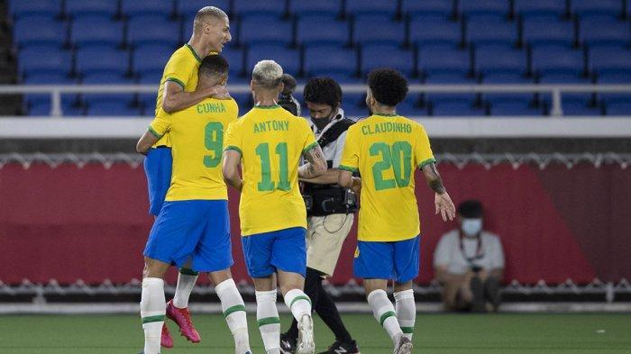 Hatrik Richarlison Bawa Timnas Brasil Menang 4-2 Atas Timnas Jerman