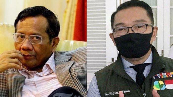 Mahfud MD Dinilai Pemicu Kekisruhan Habib Rizieq dan FPI, Ridwan Kamil Ingatkan Sikap Arif dan Bijak