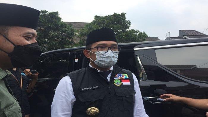 Ridwan Kamil Beri Dukungan Moril, Ulurkan Beasiswa Rp 100 Juta untuk Anak Almarhum Letkol Irfan Suri