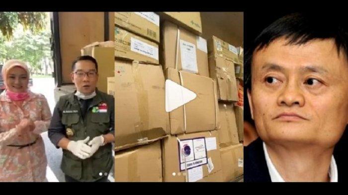 Virus Corona, Pendiri Alibaba Foundation Jack Ma Kirim Bantuan ke Jawa Barat, Ridwan Kamil: Xie Xie